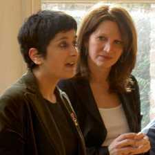 Shami Chakrabarti and Lynne Featherstone MP