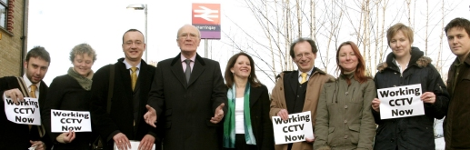 Menzies Campbell MP launches Haringey local election campaign