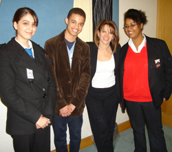Meeting young people in Haringey