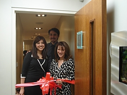Lynne Featherstone MP opens Denchic in Crouch End