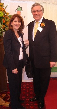 With Lord Clement-Jones at the Treehouse Trust birthday
