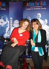 Lynne Featherstone MP and Lorna