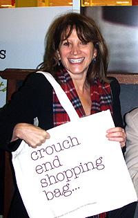 Lynne Featherstone MP and the Crouch End Shopping Bag