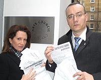 Lynne Featherstone MP and Cllr Neil Williams petition Arts Council over Jacksons Lane Community Centre