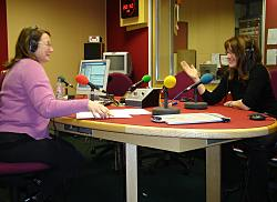 Appearing on Radio 4's The Westminster Hour with Carolyn Quinn
