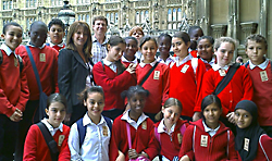 Earlham Primary School visit to Parliament