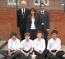 Lynne Featherstone at Highgate School