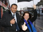 Fiyaz Mughal and Lynne Featherstone - Westbury Avenue