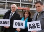 Whittington Hospital protest