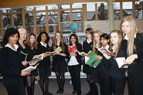 Opening of new library at Hornsey School for Girls