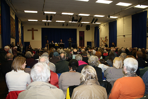 Whittington Hospital public meeting