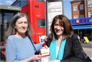Lynne Featherstone and Denysse Edwardes