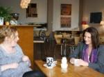 Lynne and Tammy at Karamel Café