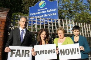 London Lib dems demand Fair funding now!