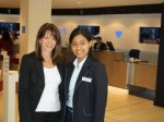 Photo of Rehanaz Noor with Lynne Featherstone MP