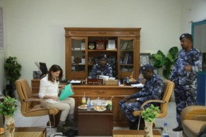 International Development Minister Lynne in Sudan