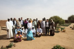 International Development Minister Lynne Featherstone MP in Sudan