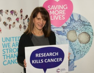 Lynne Featherstone MP at the Cancer Research UK Citizen Scientist event.