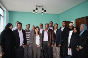 Lynne Featherstone MP meets with members of the Somali Bravenese community