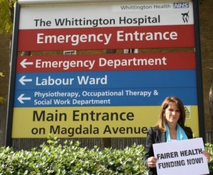 Lynne Featherstone MP calls for fairer health funding for Haringey