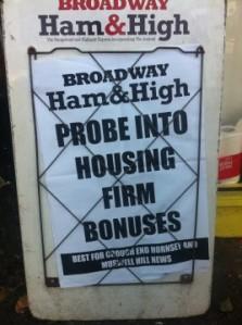 Haringey housing bonsues  to be probed
