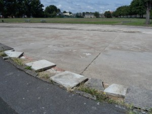 Pond Park has been cleaned up after intervention by Lynne Featherstone MP