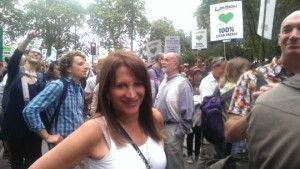 Lynne Featherstone MP on the People's Climate March, London